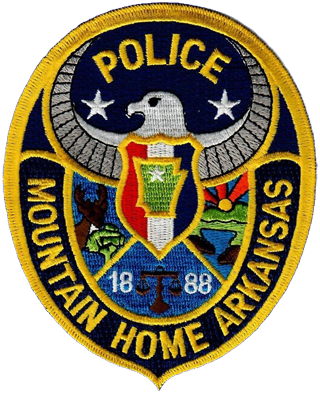 Mountain Home Police Department patch
